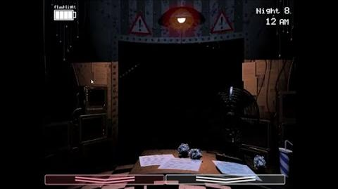 Night 8 Complete - five nights at freddy's 2 - secret night complete