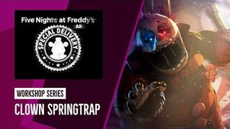 FNAF AR Workshop Series Clown Springtrap