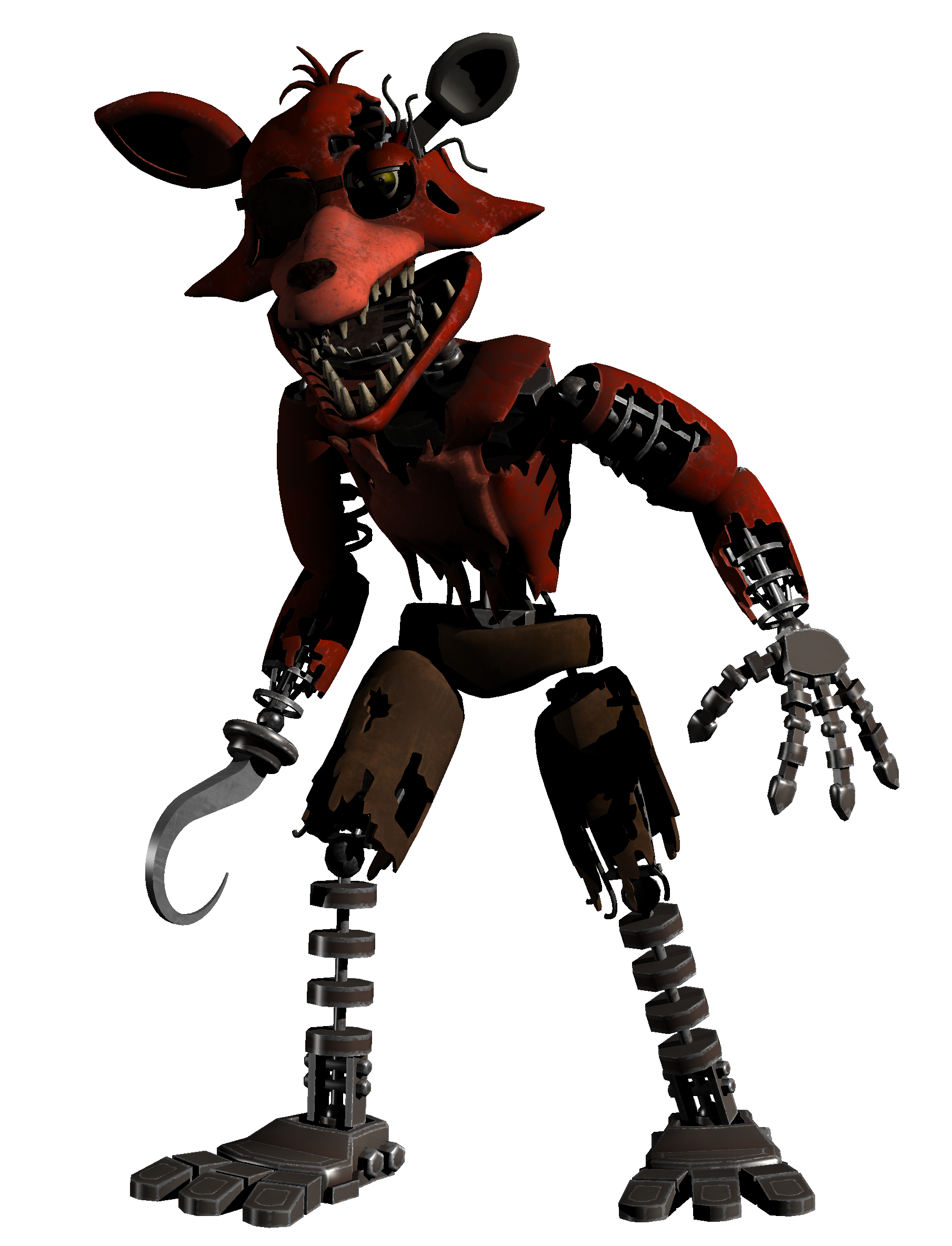 Foxy Withered Five Nights At Freddy S Wiki Fandom