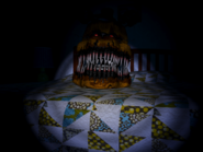 FNaF4 - Cama (Nightmare Fredbear)