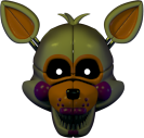 FNaF SL - Máscara de Lolbit (Textura)