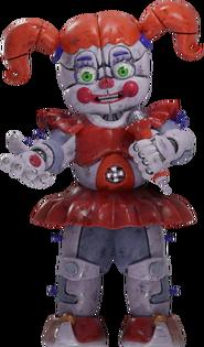 FNaF AR - Circus Baby (Render)