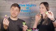 Five Nights at Freddy's Black Light Mystery Minis Unboxing!