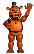 Toy freddy full body thank you image