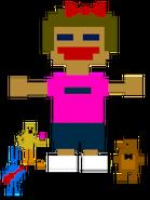 FNaF4 - Minijuegos (Niña - Toy Models)