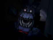 Nightmare bonnie pierwszy jumpscare 3