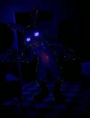 Blacklight glitchtrap
