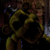 FNaF - GoldenFreddy - Icono