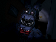Nightmare bonnie pierwszy jumpscare 2