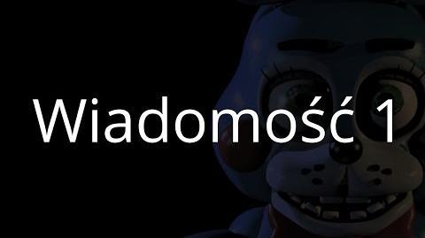 Five Nights at Freddy's 2 - Wiadomość z nocy pierwszej Napisy PL