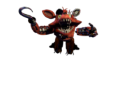 Withered foxy jumpscare 6