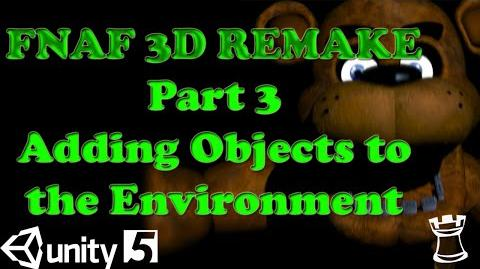 FNAF 3D Remake in Unity 5 Tutorial | Five Nights at Freddy's