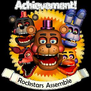 Rockstars Assemble