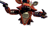 Withered foxy jumpscare 10