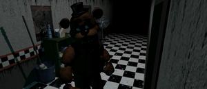 Cam 01 - Freddy Fazbear - 4ta pose