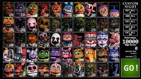 FNaF Ultimate Custom Night (UCN) Oficial Trailer