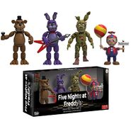 FNaF Collectible Figurine Set 1