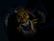 Nightmare chica jumpscare 1