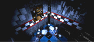 FNaF - West Hall (Final del pasillo - Iluminado)