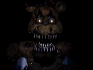 Nightmare freddy drugi jumpscare 7