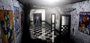 FNaF2 - Main Hall (Bonnie - Iluminado)