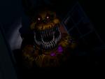 FNaF4 - Pasillo Derecho (Nightmare Fredbear - Cerca)