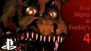 Five Nights at Freddy's 4 - PS4 Trailer