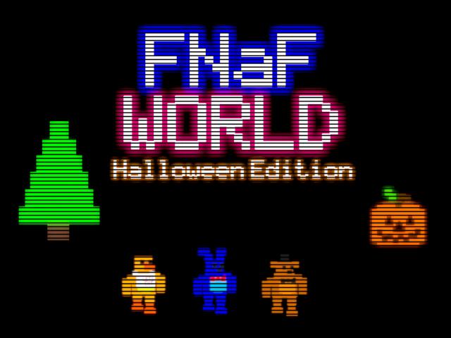 FNaF World: Halloween Edition   Five Nights at Freddy's Wiki