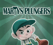 Marty's Plungers Advertisement