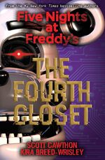 Five Nights at Freddy's The Fourth Closet - Portada