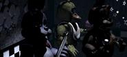 Freddy, Bonnie i Chica na Scenie
