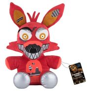 Nightmare Foxy Funko Plush