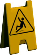 Wet floor sign2