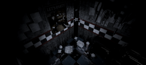 FNaF - West Hall (Final pasillo)