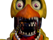 Withered chica jumpscare 7