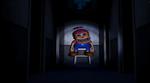 FNaF4 - Pasillo central (Nightmare BB en su asiento)
