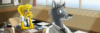 UCN ToyChica THSY (Wolf)