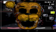 FNaF2 (Móvil) - Golden Freddy1