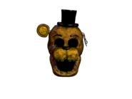 Withered golden freddy jumpscare 6