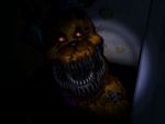 FNaF4 - Pasillo Izquierdo (Nightmare Fredbear - Cerca)
