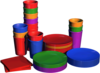 Colorful Cups and Plates - Catálogo (FFPS)