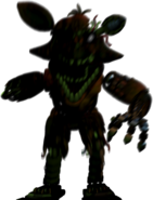 Phantom foxy jumpscare 6