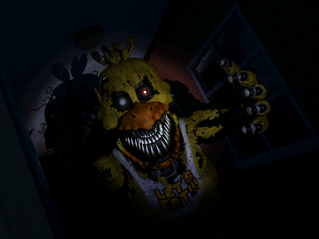 5 Nights At Freddy's Chica nightmare chica   five nights at freddy's wiki   fandom