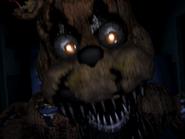 Nightmare freddy pierwszy jumpscare 13