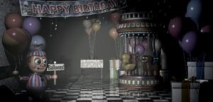 FNaF 2 - Game Area (Balloon Boy)