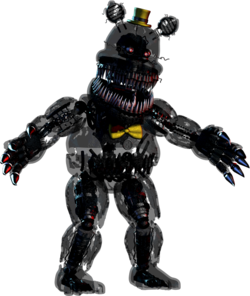 FNaF4 - Nightmare (Extras)