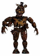 Nightmare freddy full body thank you image