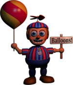 FNaF2 - Balloon Boy (Textura)