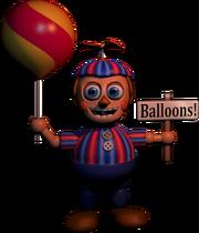 FNaF2 - Balloon Boy (Textura)