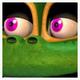 Happy Frog Icon